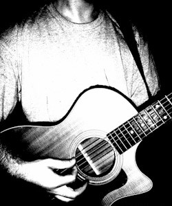 guitar1 017 bw-Edit