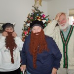 Christmas beards
