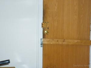 back door barred